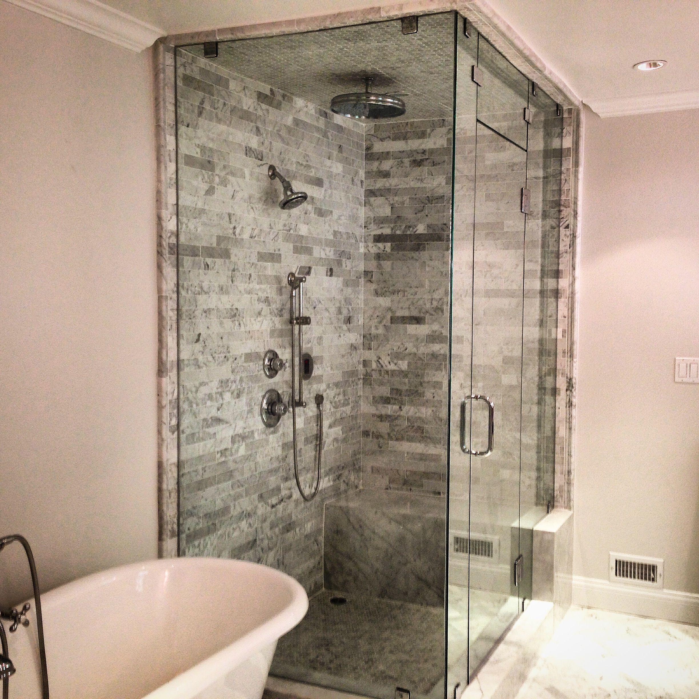 Custom Steam Showers Custom Frameless Steam Shower Enclosure With Chrome Hardware Steam Showers Steam Showers Bathroom Steam Shower Enclosure