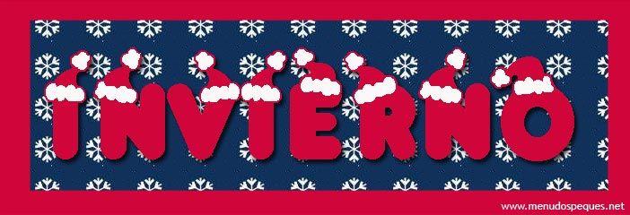 Cartel para el invierno  carteles y otros sala  Pinterest