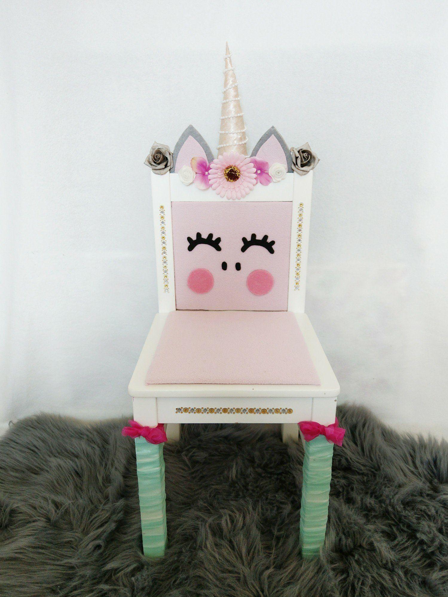 Diy Einhorn Stuhl Upcycling Aus Dem Ikea Kritter