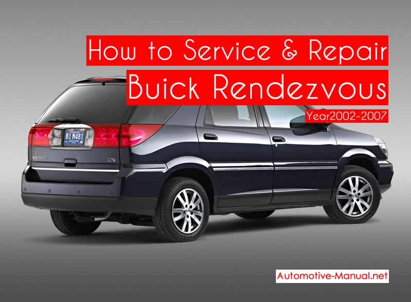 How To Service Repair Buick Rendezvous 2002 2007 Pdf Manual Buick Repair Manuals Nissan 370z Nismo