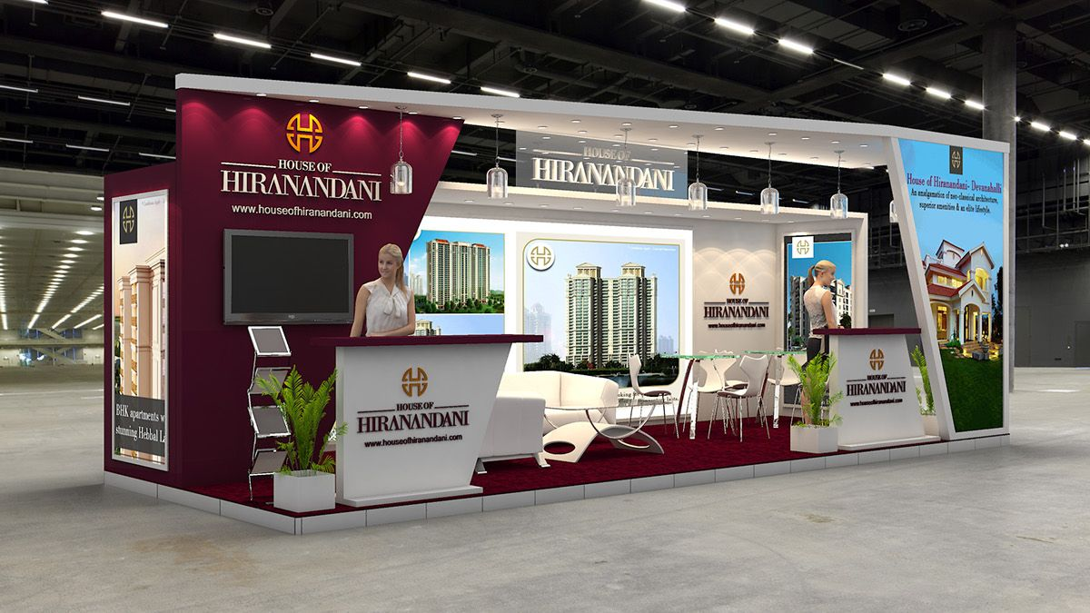 Property Exhibition Booth : House of hiranandani exhibition design for indian property