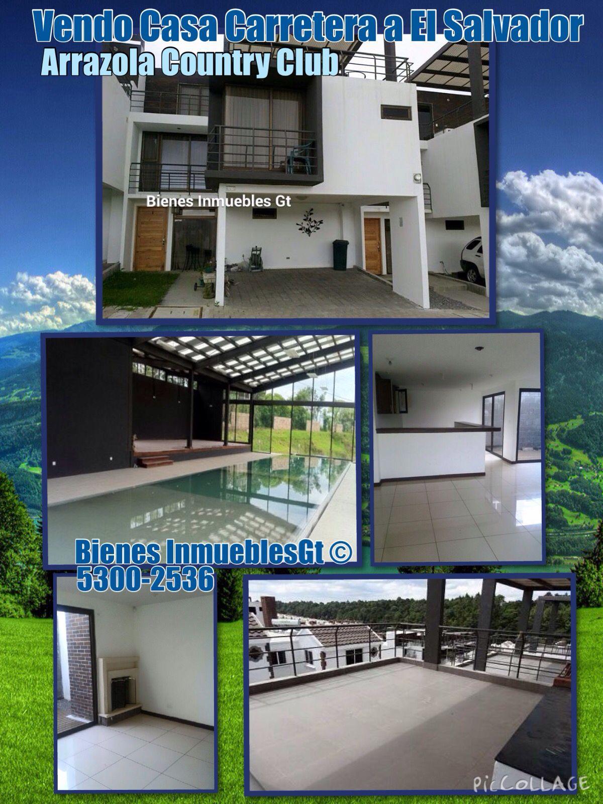 Vendo Casa Carretera a El Salvador Arrazola Country Club 4