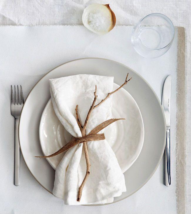Decorate a table for lunch - Öğle yemekleri için masa dekorasyonu #gedecktertisch