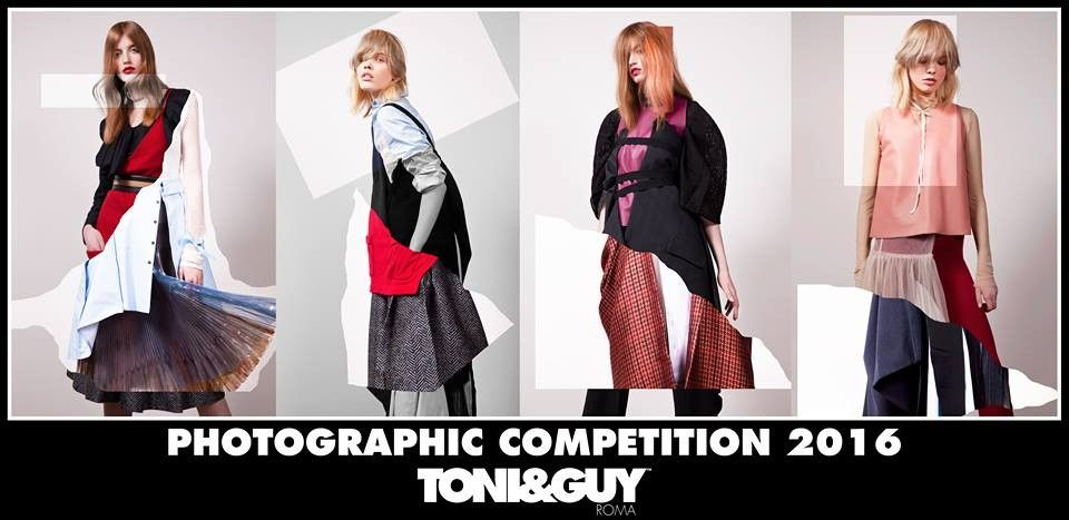 TONI&GUY Roma -PHOTOGRAPHIC COMPETITION 2016-   Photo  || Martina Scorcucchi  Hair || Toni&Guy Roma  Stylist || Karolina Gendek-D'Andrea Make-up || Gianluca Ferraro  Models || Magdalena Kuffel, Georgia Rose