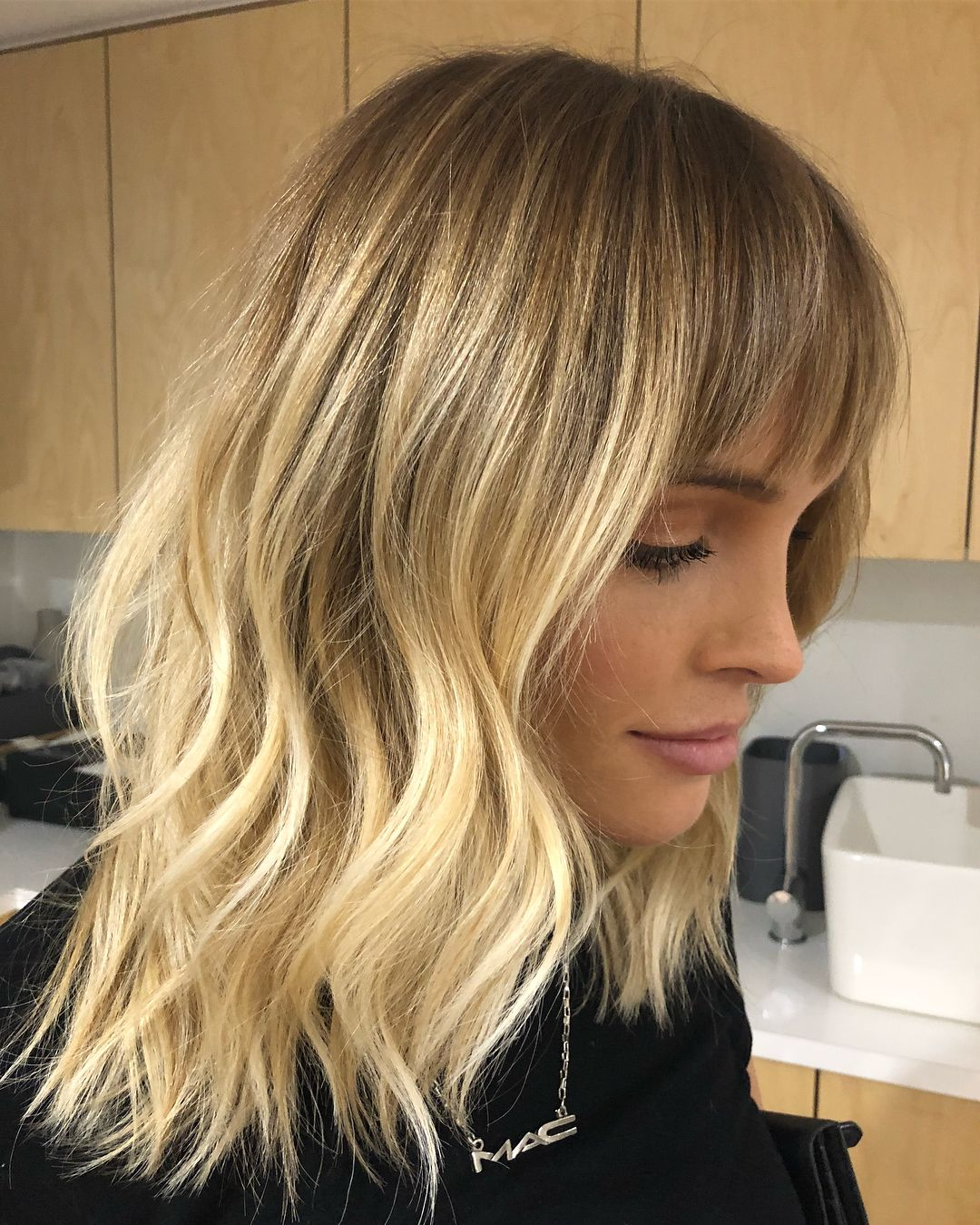 Yesterday S Balayage Haircut Magic On Melaniejanemua The
