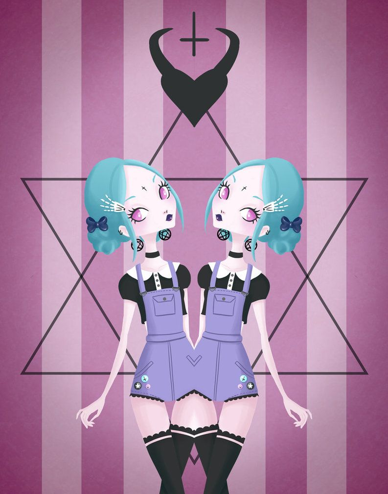 Tumblr iphone wallpaper pastel grunge - Pastel Goth By Pachix