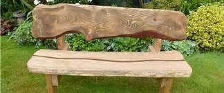 Fine Unusual Wood Garden Bench Yahoo Search Results Yahoo Image Creativecarmelina Interior Chair Design Creativecarmelinacom