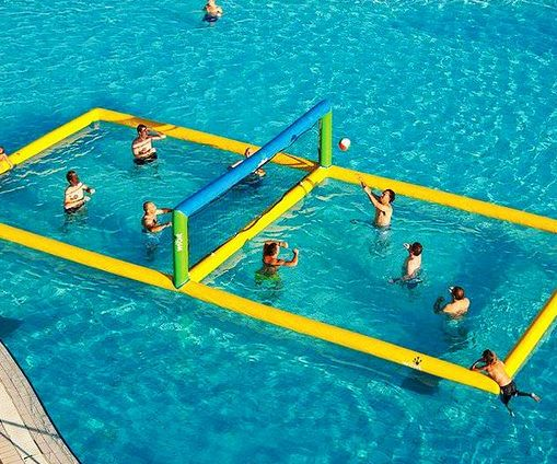Inflatable Volleyball Court Water Volleyball Inflatable Water Park Water Park