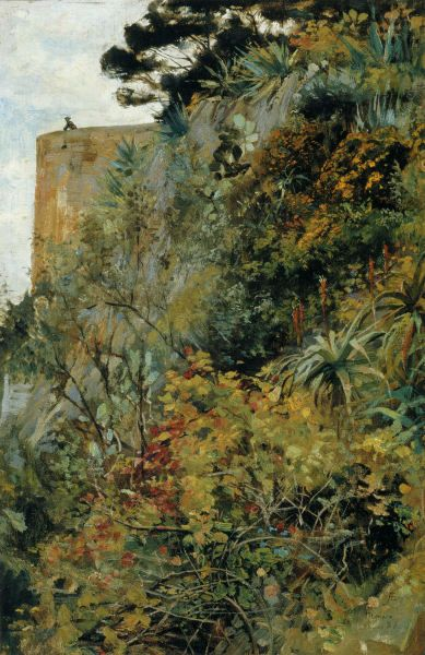 ALBERT EDELFELT  Aihe Monacosta (Monaco, 1886)