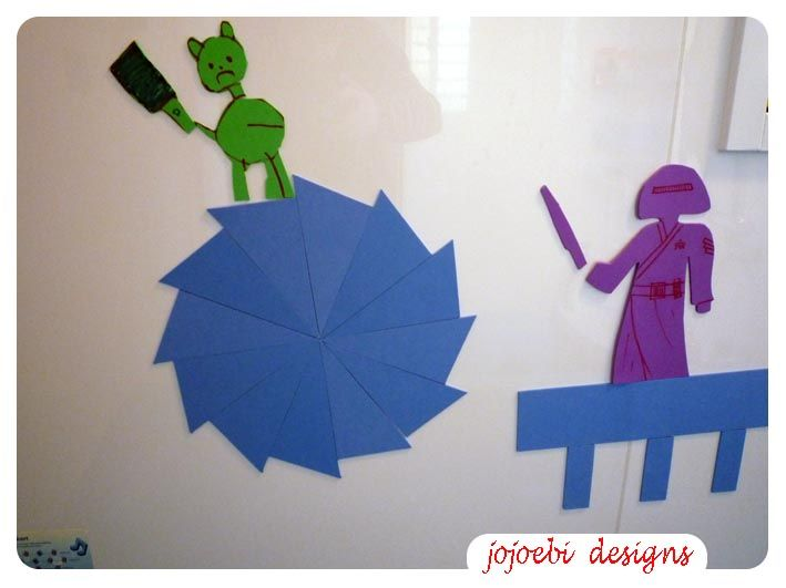 jojoebi designs: The Blue Constructive Triangles-not as easy as you think