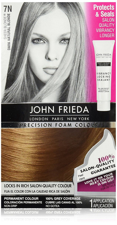 John Frieda Precision Foam Colour Hair Dye Dark Natural Blonde