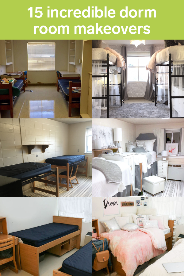 15 incredible dorm room makeovers that will make you want to go back to college
