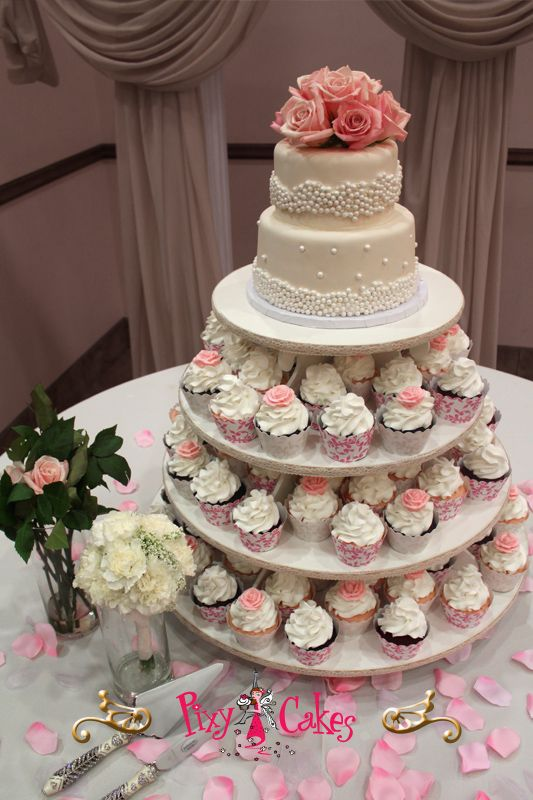 cupcakes for weddings Google Search wedding cakescupcakes