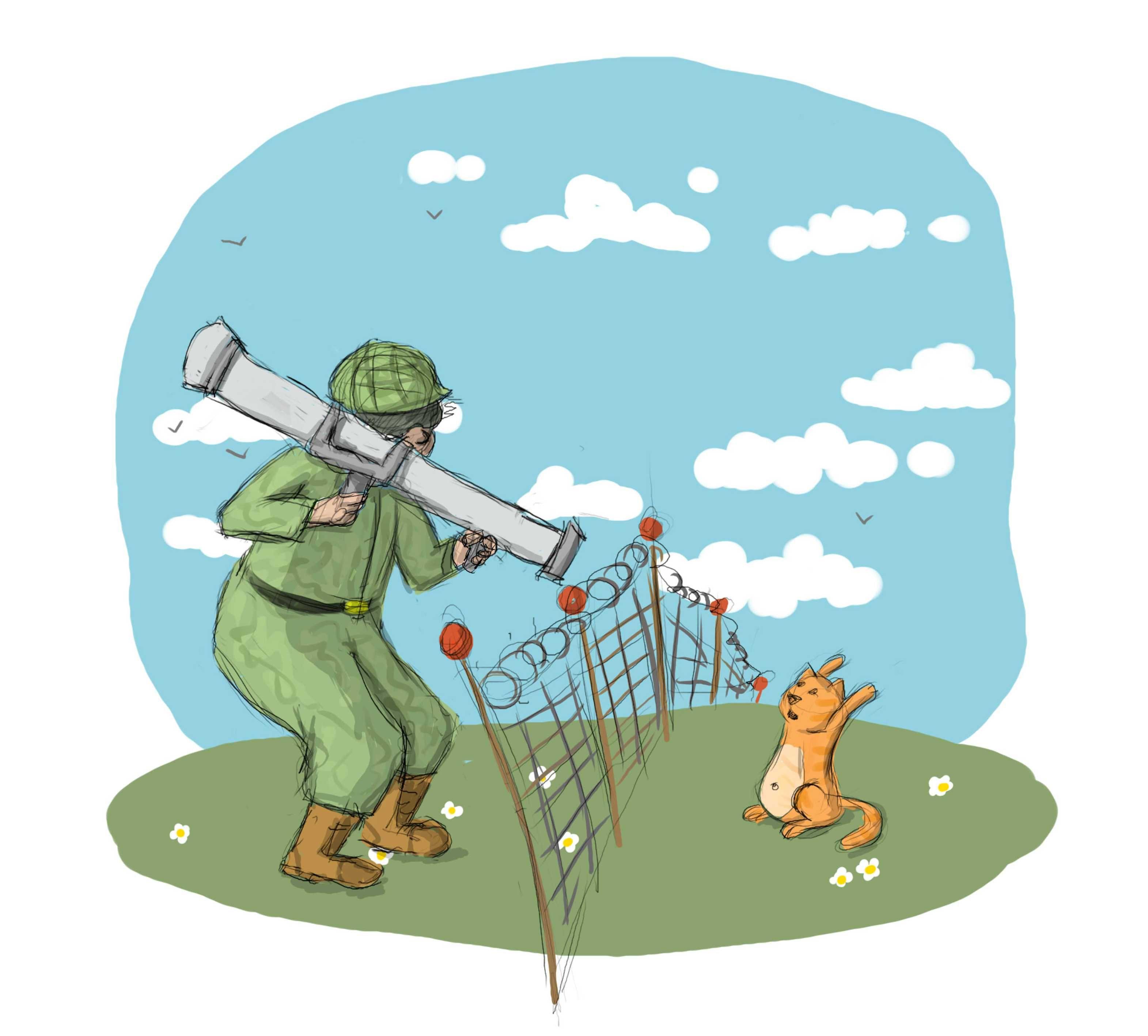 открытка с 23 февраля пограничникам тучки, разыгрались