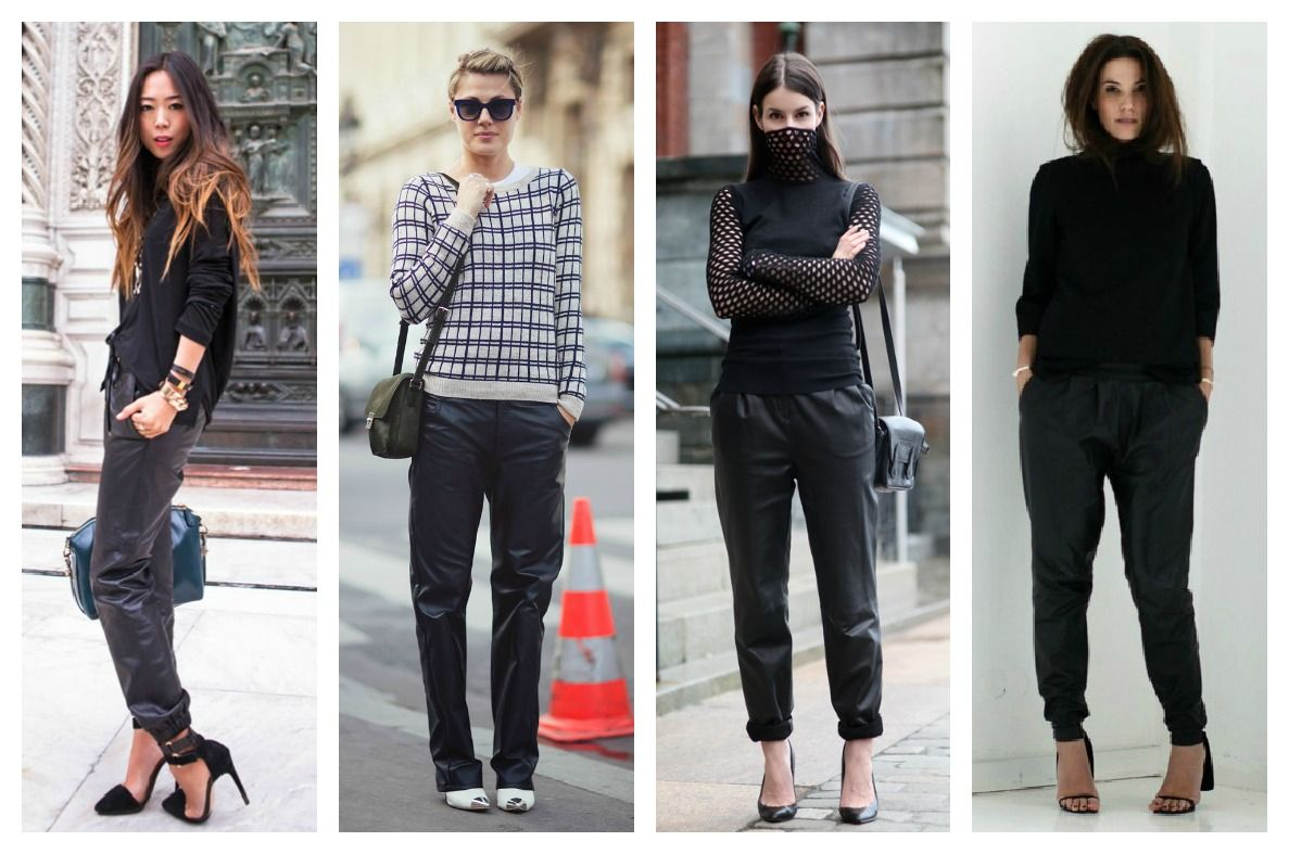 Fashion Black Pants
