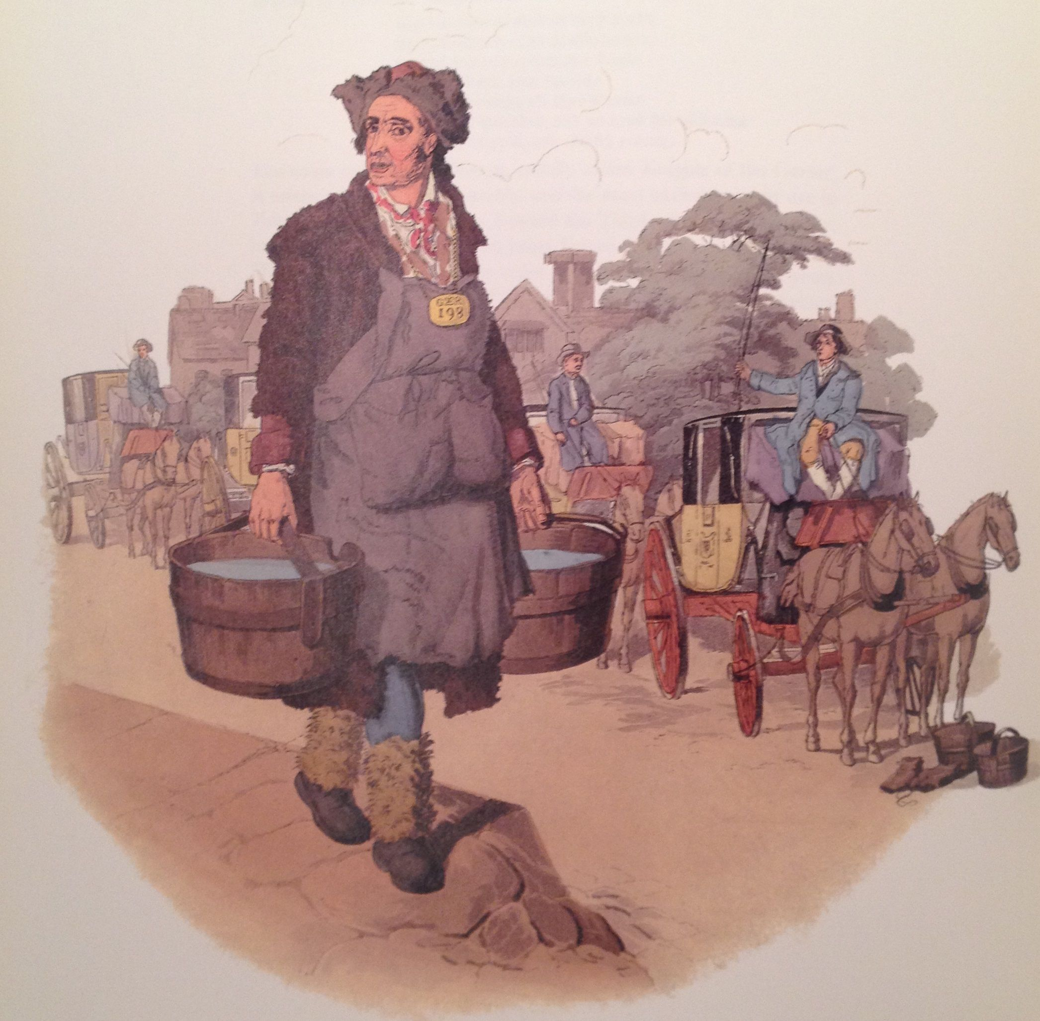 Waterman at Coachstand, 1805
