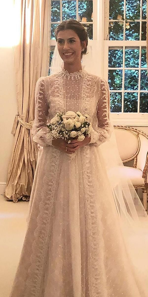 30 Stunning Long Sleeve Wedding Dresses For Brides | Wedding Dresses Guide