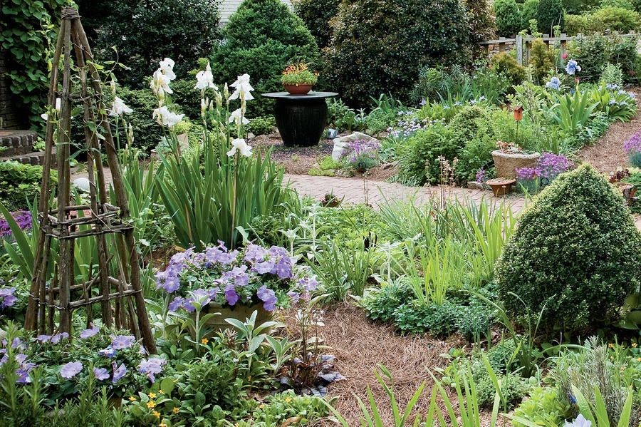 charming cottage garden style english cottage garden on extraordinary garden path and walkway design ideas and remodel two main keys id=45718
