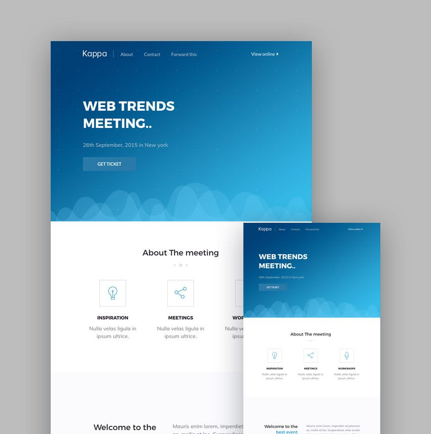 mail chimp newsletter templates.html