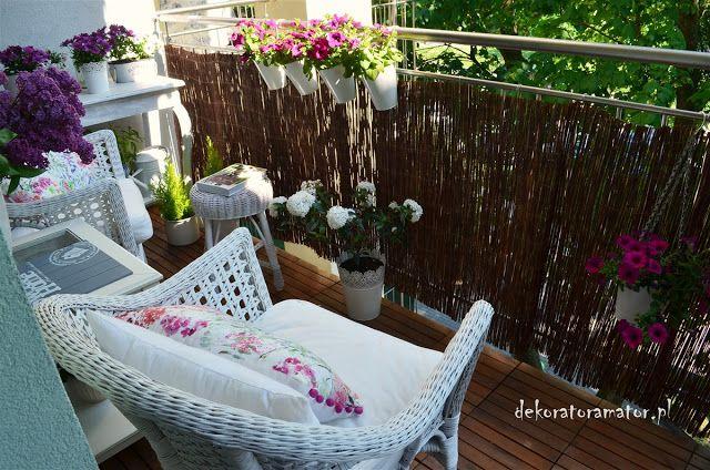 Aranzacja Balonu Majowy Balkon Pomysl Na Balkon Balkon Inspiracje Home Decor Outdoor Furniture Decor