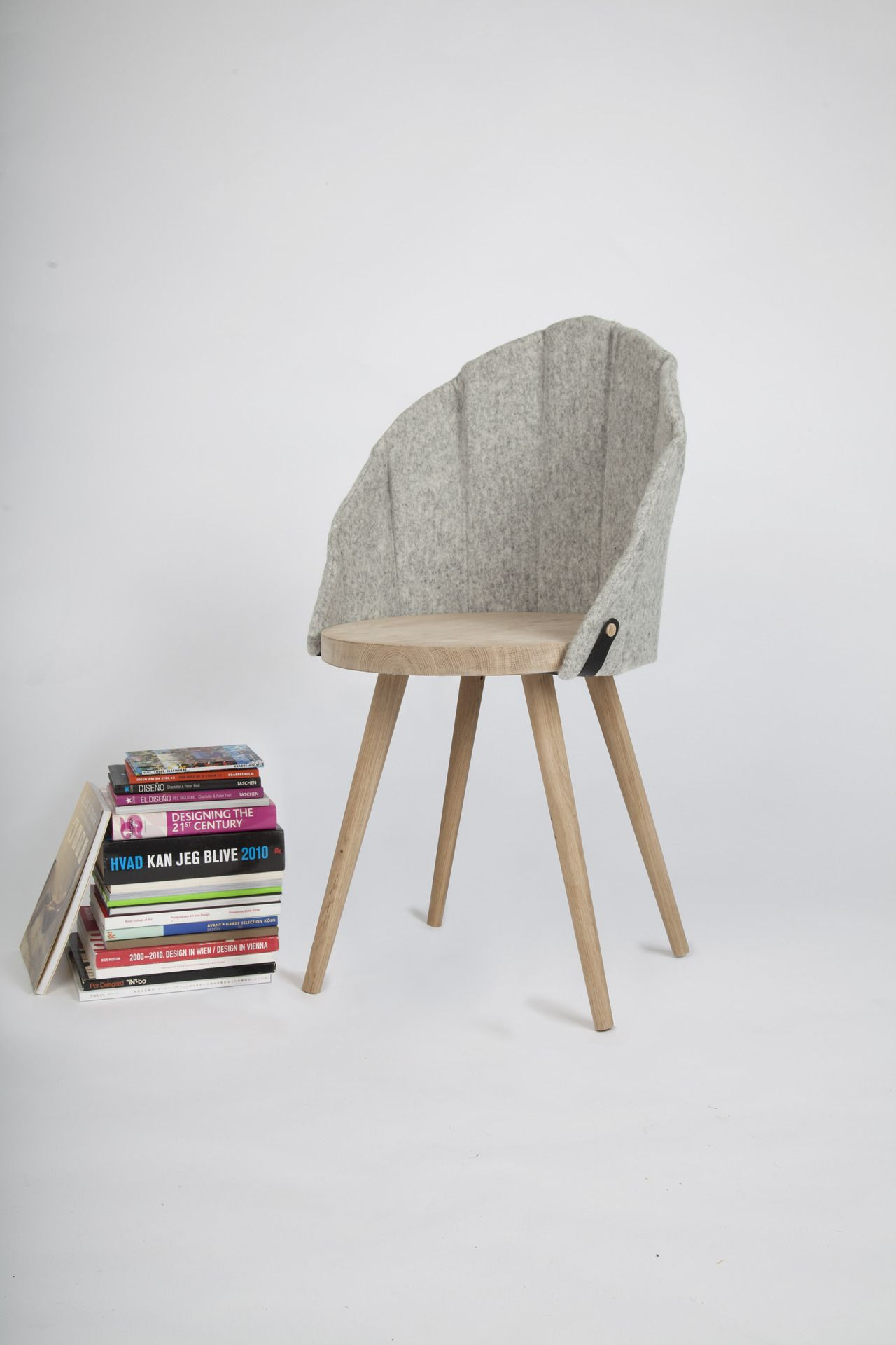 Chair by Malene Jonsson and Ditte Willads Petersen from Krabbesholm
