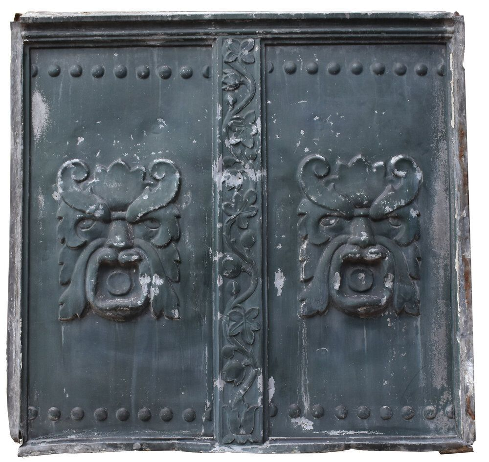 Olde man winter northwind relief Architectural antiques