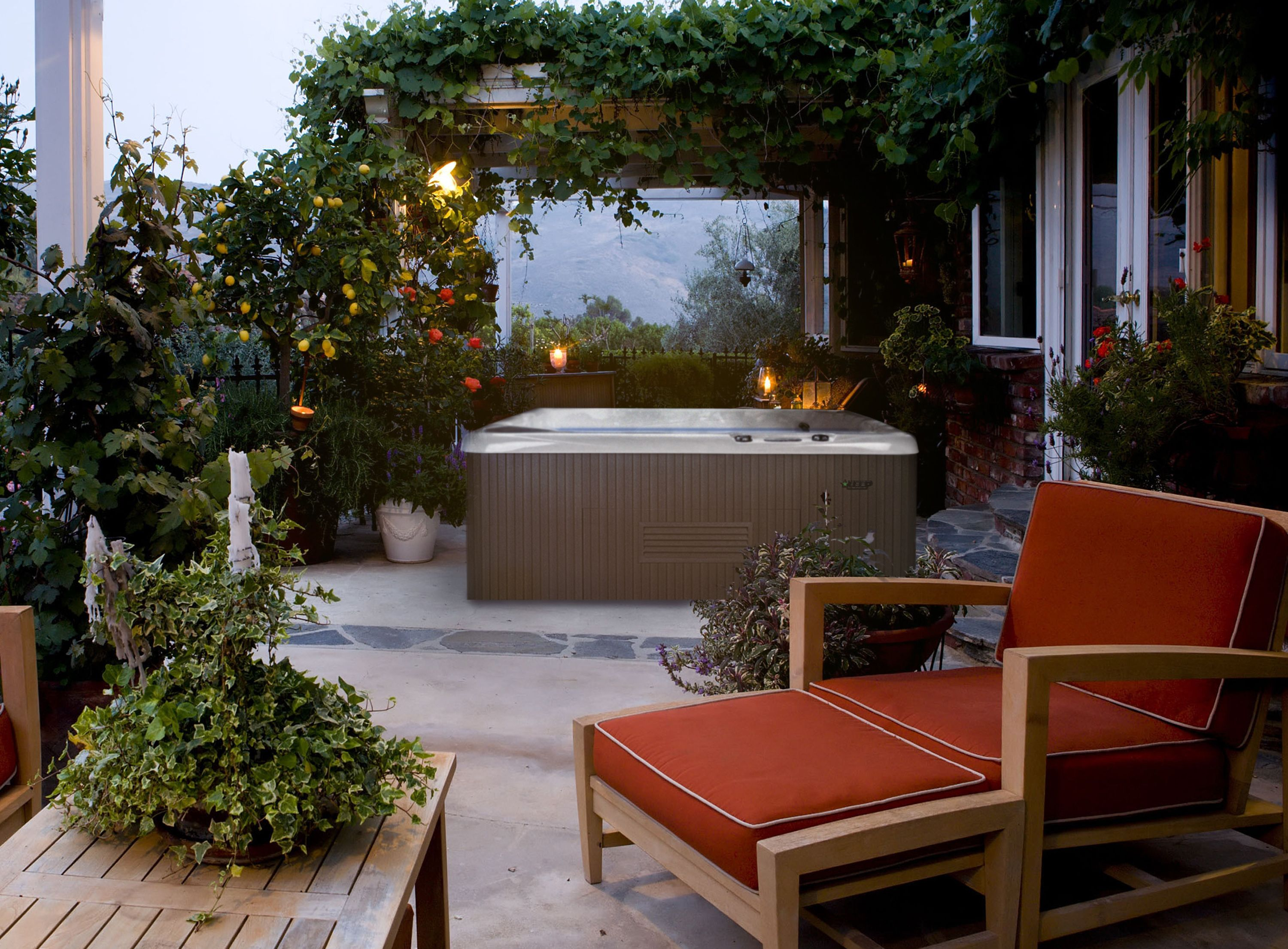 How To DeStress Naturally Hot tub outdoor, Outdoor