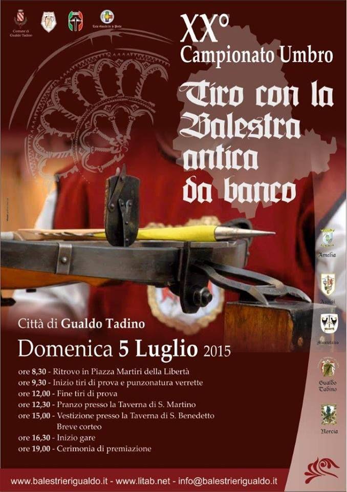 Italia Medievale: XX° Campionato umbro di tiro con la balestra antica