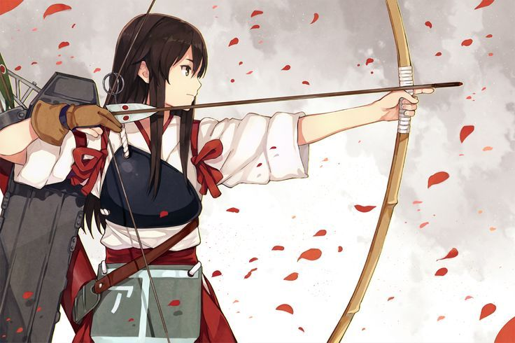 manga girl fight with a bow an arrow - Recherche Google