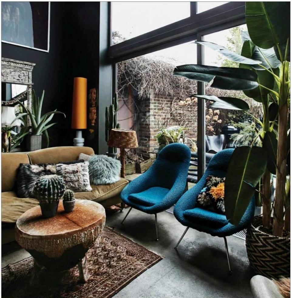 Elle Decoration South Africa April 2018 Bohemian Interior Design Interior Architecture Design Interior
