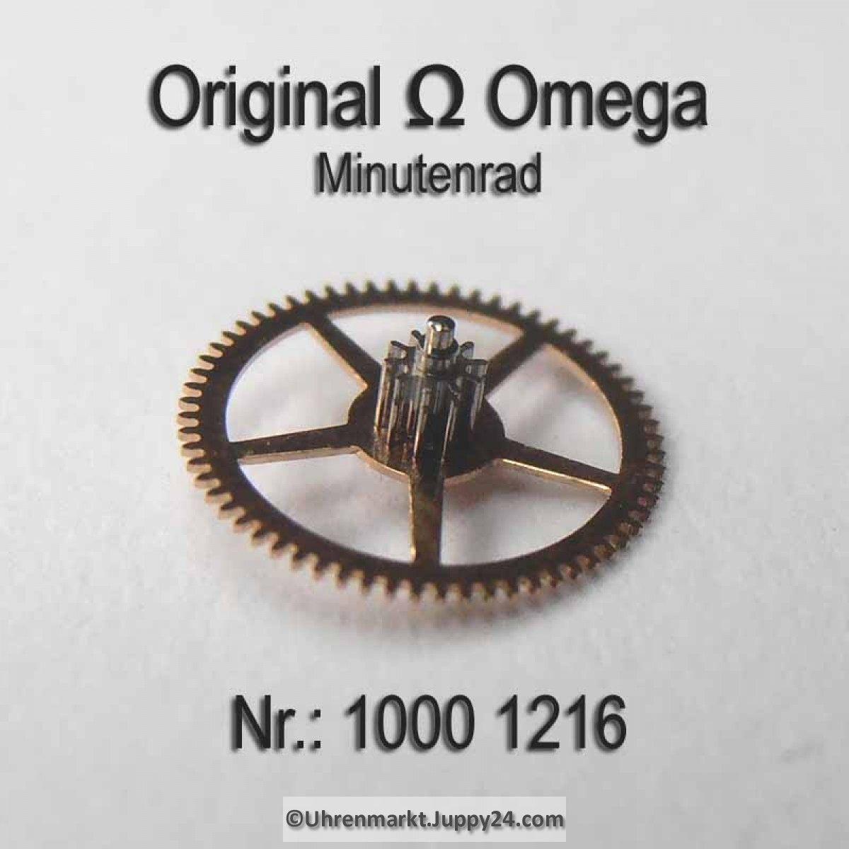 Omega Minutenrad Part Nr Omega 1000 1216 Cal 1000 1001 1002 Omega Omega Omega Uhr Ersatzteile