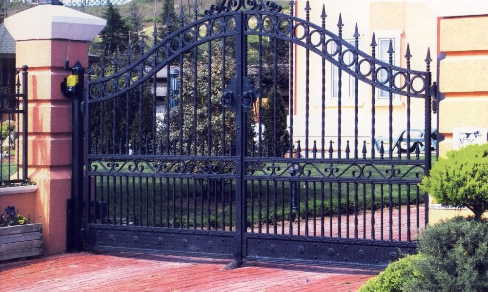 Portail design KOMILFO Cu0027est magnifique Pinterest - portail de maison en fer
