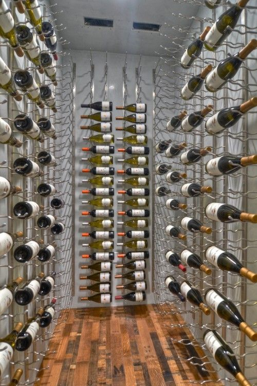 That's some wine cellar!
