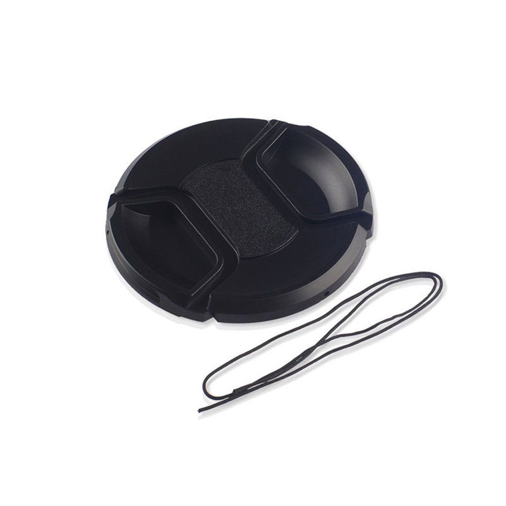 52mm Center Pinch Snap On Front Lens Cap Cover For Canon Nikon Sony 099 W String Tr Ebay Electronics