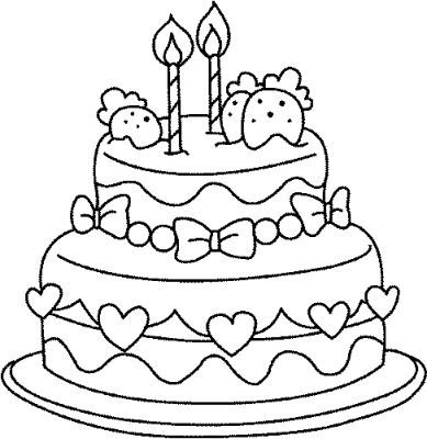 gateau d anniversaire a colorier gateau pinterest coloriage anniversaires et gratuit. Black Bedroom Furniture Sets. Home Design Ideas