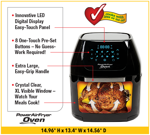 Power Airfryer Oven The Healthy Way To Fry Food Power Airfryer