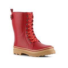 BootsiTootsi Fisherman Rain Boot    I want them but with the black shoelaces