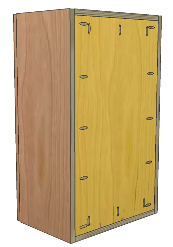 Best European Style Frameless Upper Cabinets Are Easy To Build 400 x 300