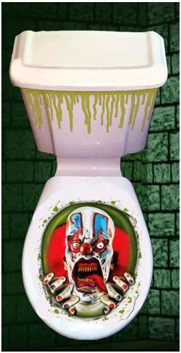 Brilliant Halloween Toilet Seat Grabber Cover Scary Fancy Dress Horror Evergreenethics Interior Chair Design Evergreenethicsorg
