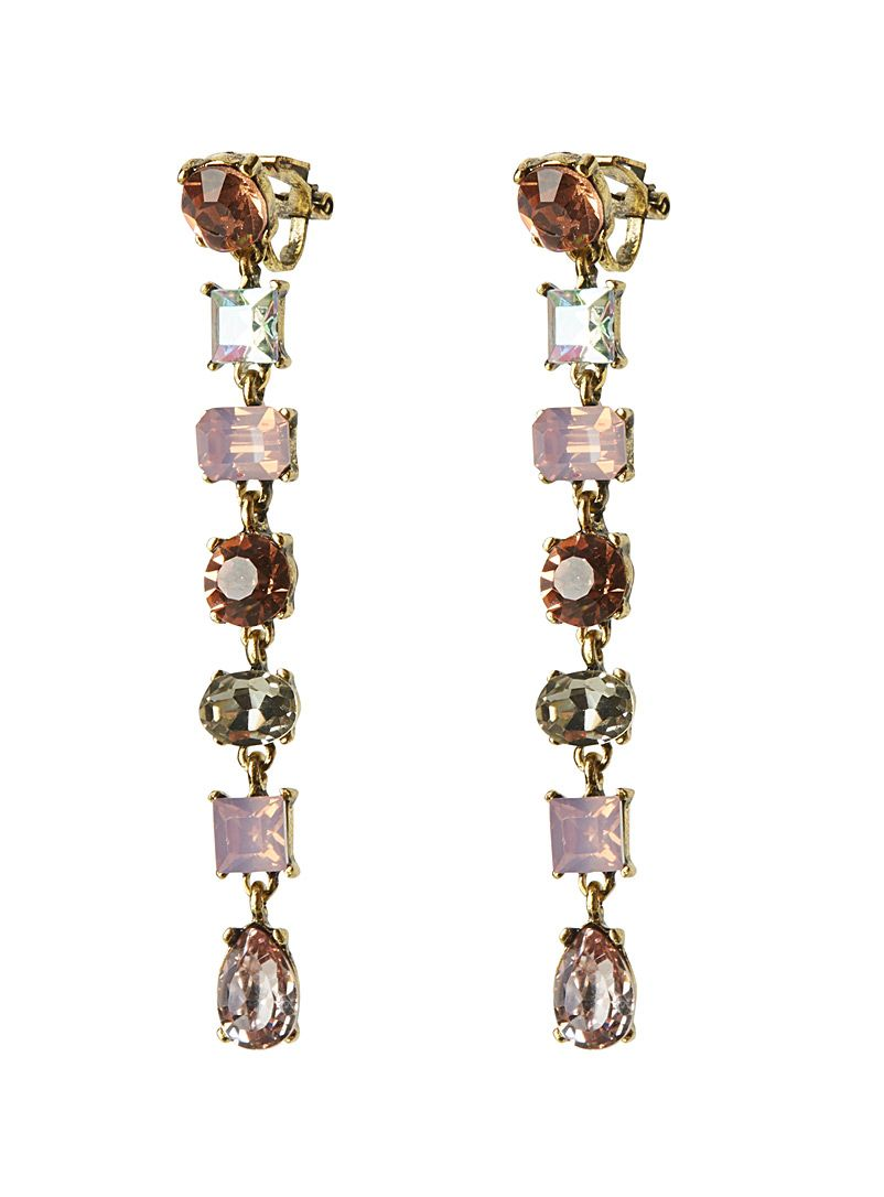 Crystal Drop Earrings Simons Women S Studs Online In Canada