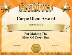 101 Funny Teacher Awards by comedian Larry Weaver http://www ...