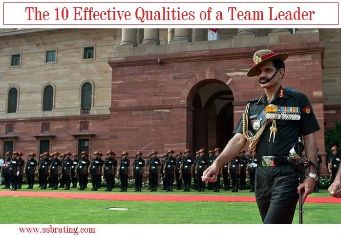 characteristics of a good team leader