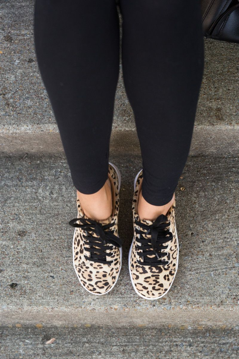 Animal print shoes outfit