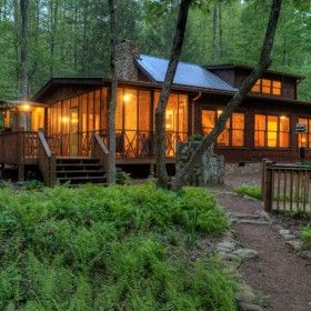 ga pin ridge cabins blue cabin north georgia rentals