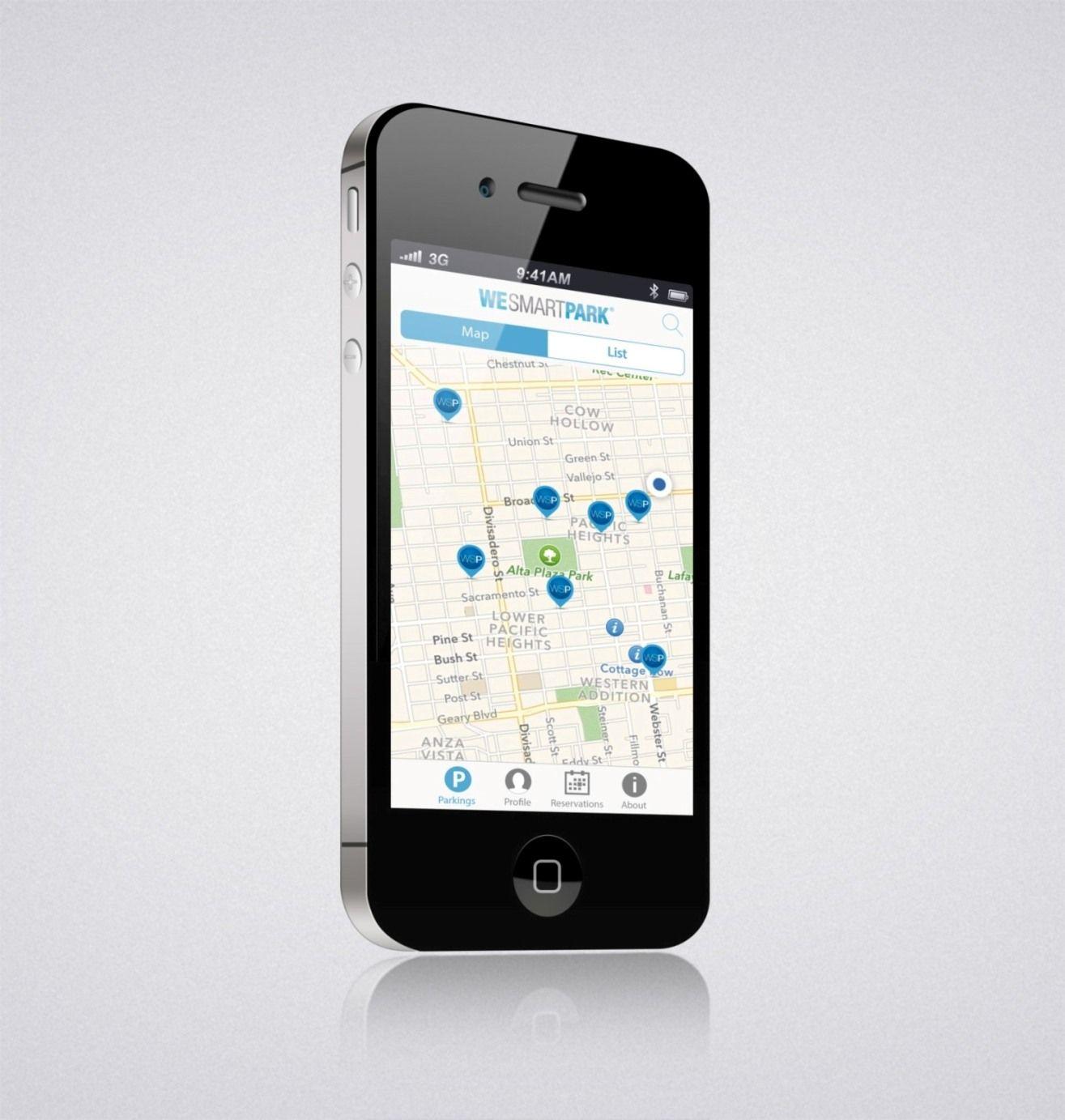 WeSmartPark, la aplicación que informa en tiempo real de plazas libres de aparcamiento, ya funciona en Barcelona y pretende dar el salto a Madrid el año que viene.