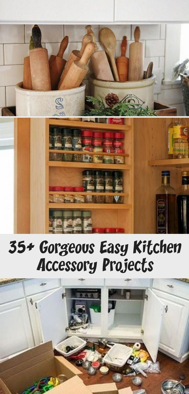 35+ Gorgeous Easy Kitchen Accessory Projects – KTCHN Kitchen