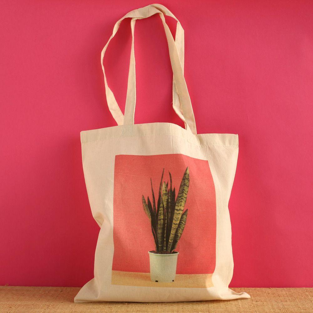 Tote Bag Ma Plante - Céline Saby