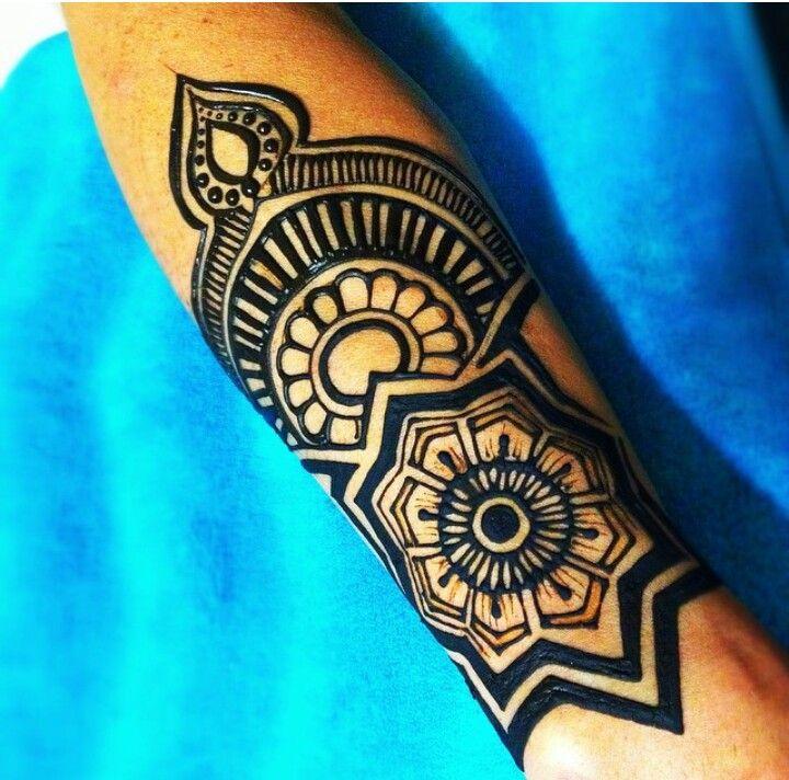Forearm Henna Design Henna Tattoo Inspiration Pinterest