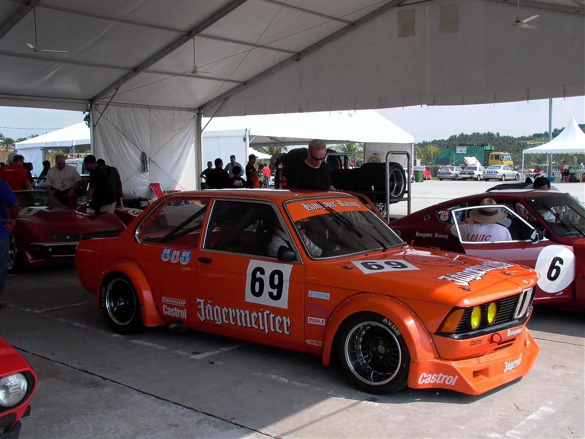 BMW E21 Racecar at Japan GT in Malaysia Meister, Rennen