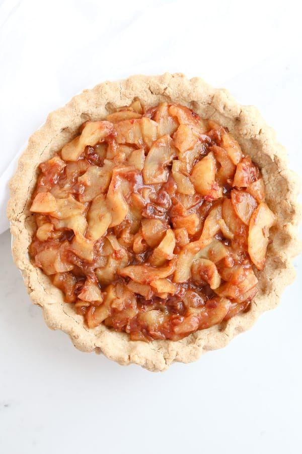 Instant Pot Caramel Apple Pie Recipe Sugar free apple